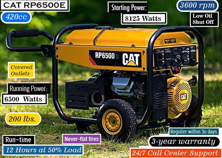 Cat RP6500E-1