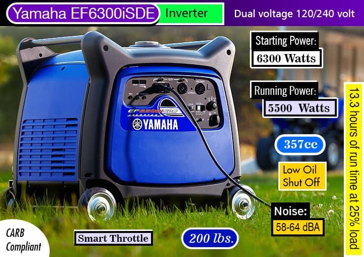 Yamaha EF6300OiSDE-1