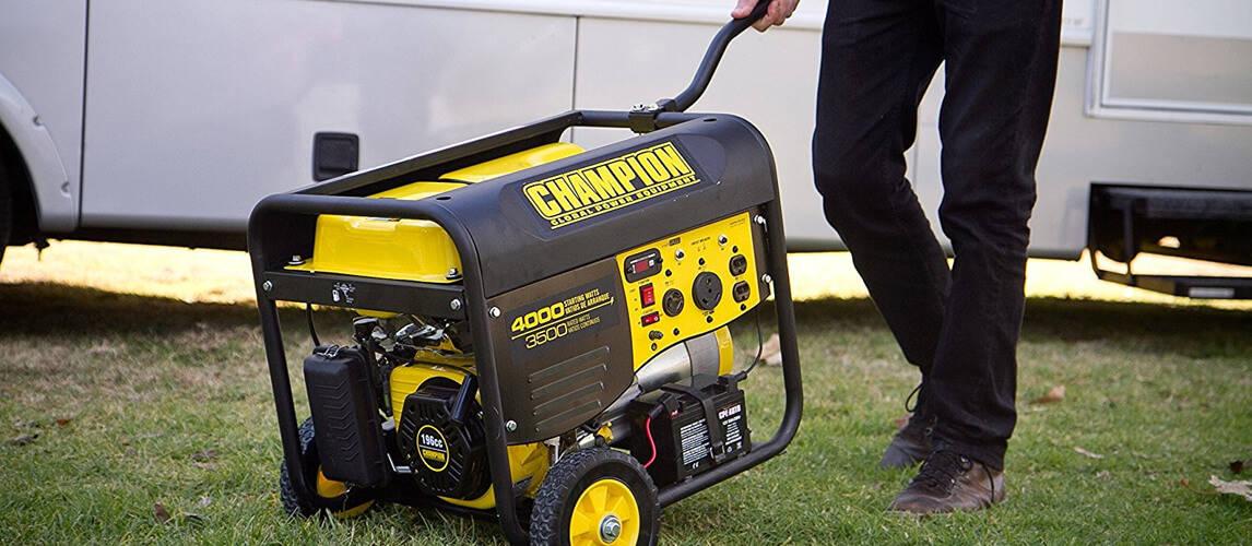 waterproof generator