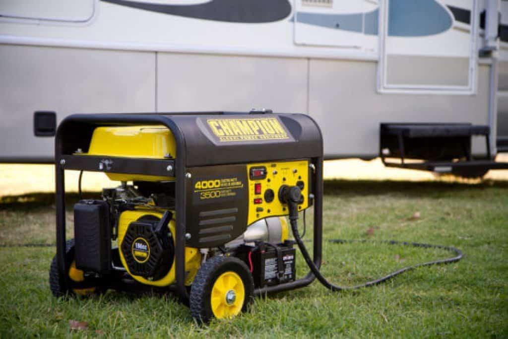 weatherproof generator