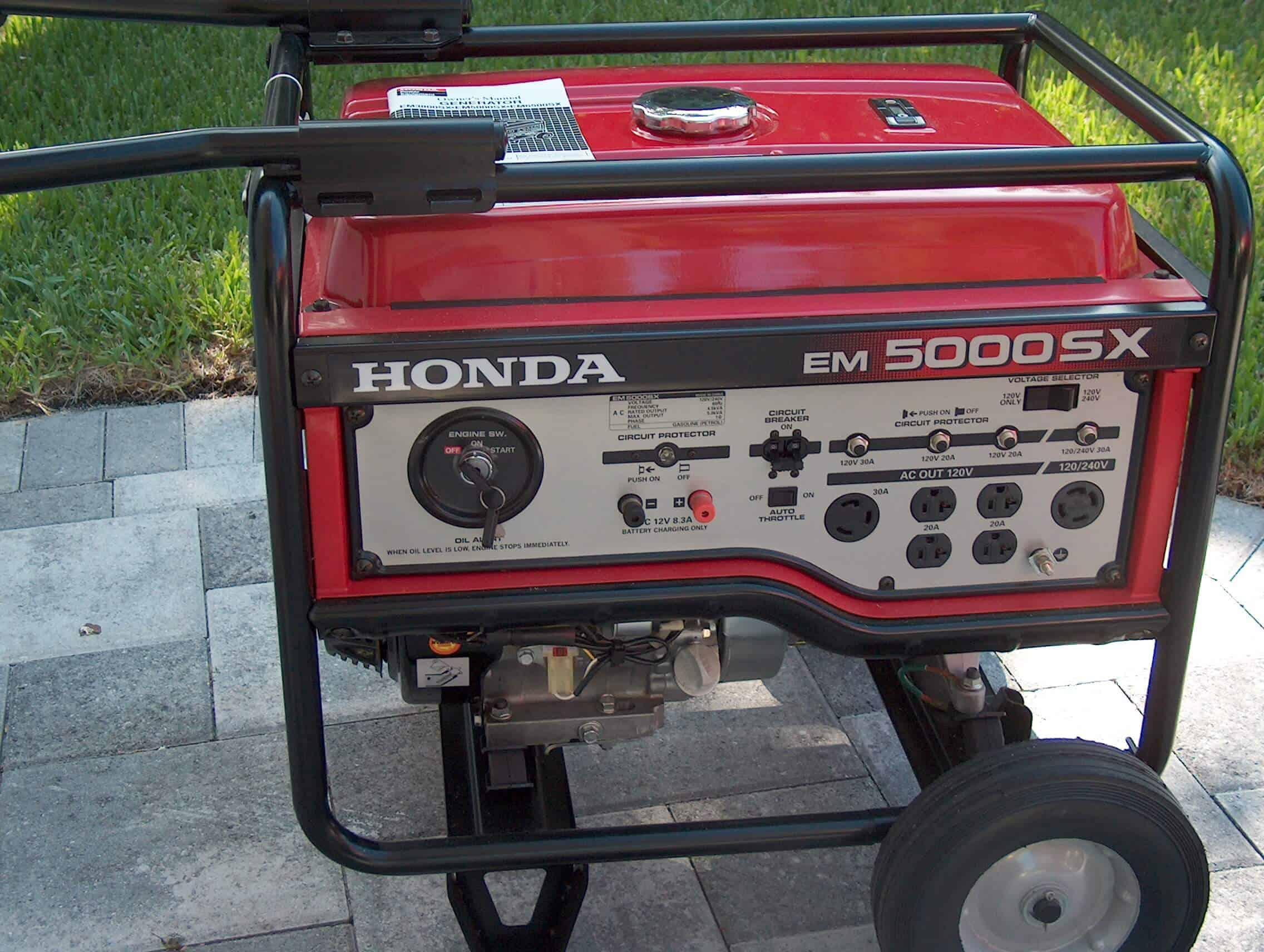 Honda EM5000SX -1
