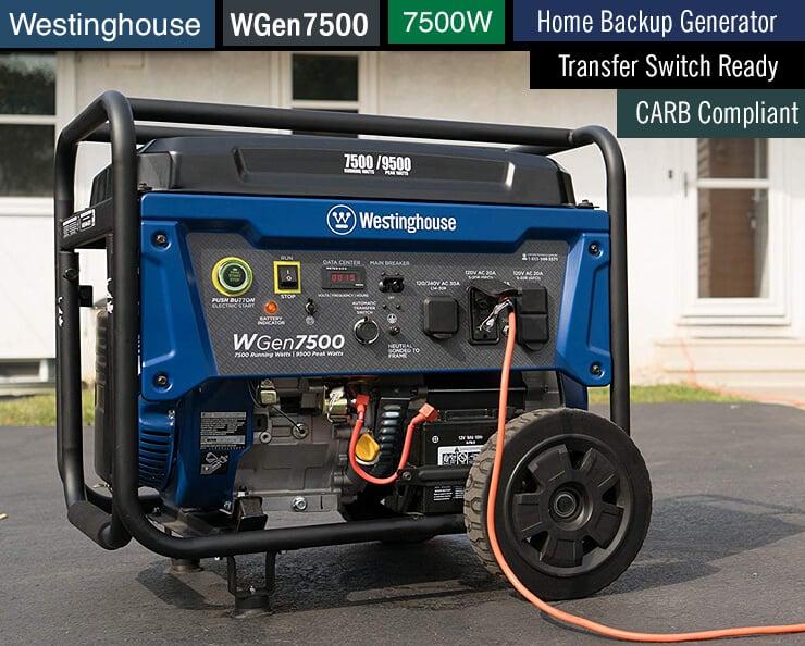 Westinghouse WGen7500 -1