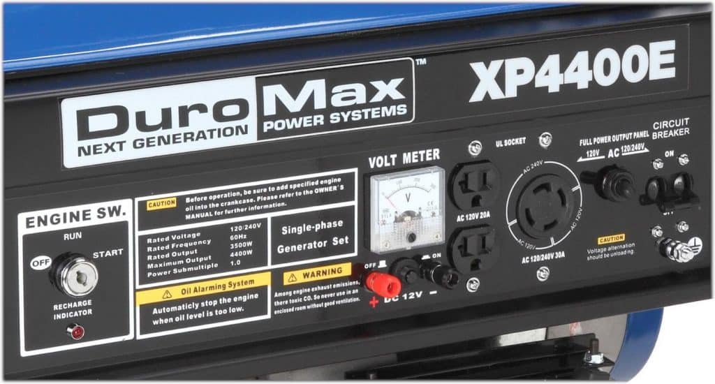 DuroMax XP4400E Review-3