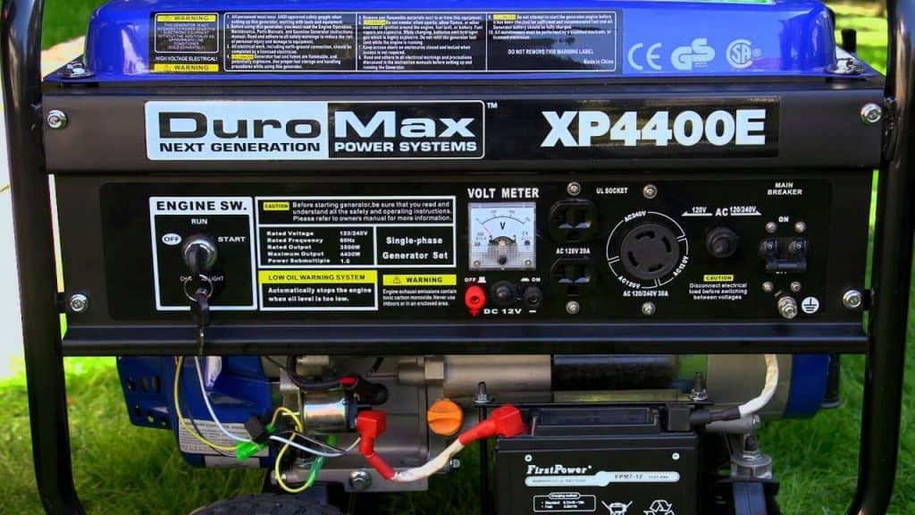 DuroMax XP4400E Review-4