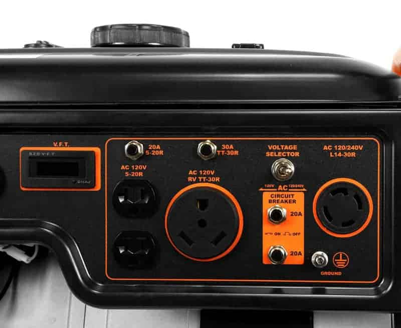 WEN 56500 Portable Generator-2