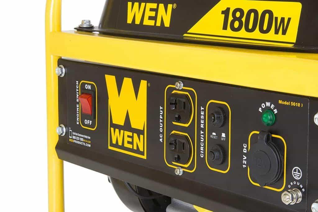 WEN 56180 1800-Watt Portable Generator Review -1