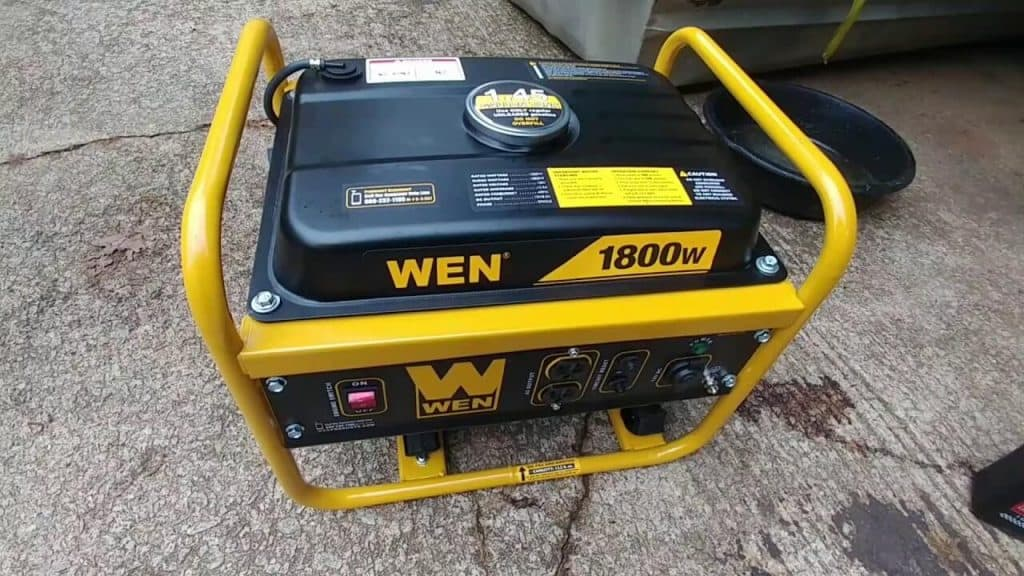 WEN 56180 1800-Watt Portable Generator Review