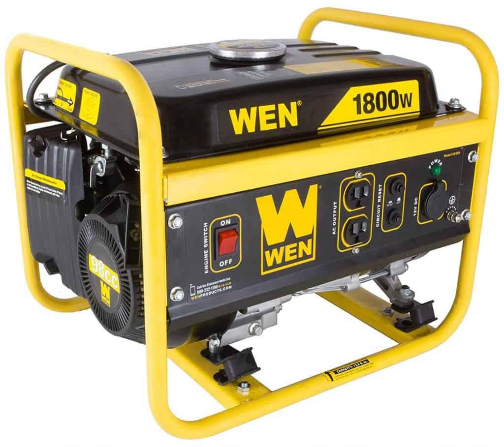 WEN 56180 1800-Watt Portable Generator Review -3